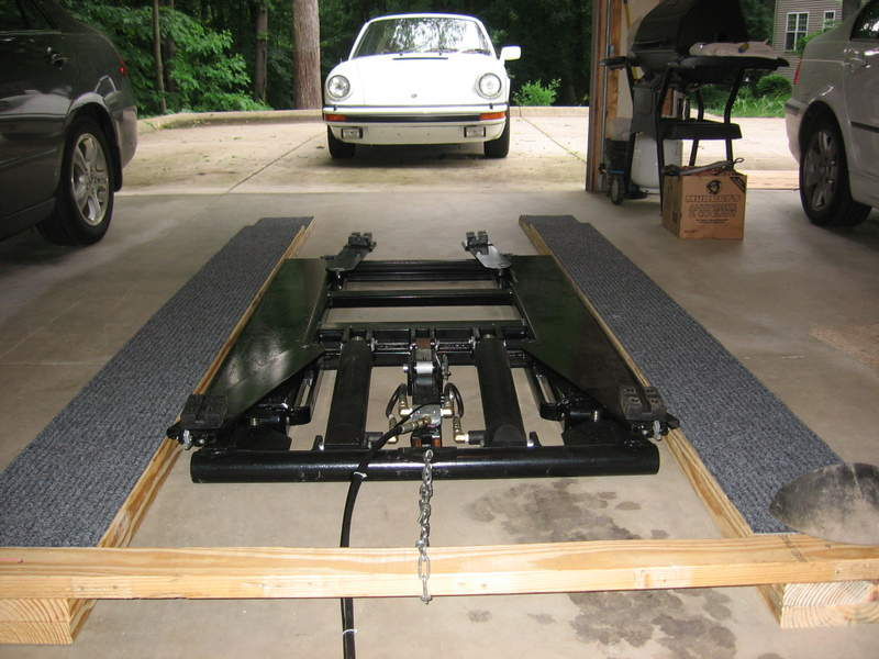 Home car lift ramp Car lift plans