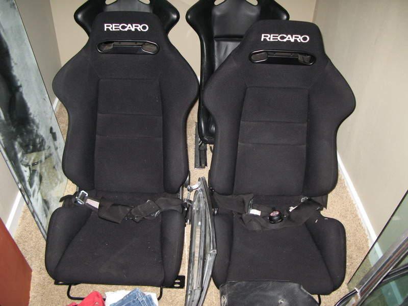 fs recaro srd seats black pelican parts technical bbs. Black Bedroom Furniture Sets. Home Design Ideas