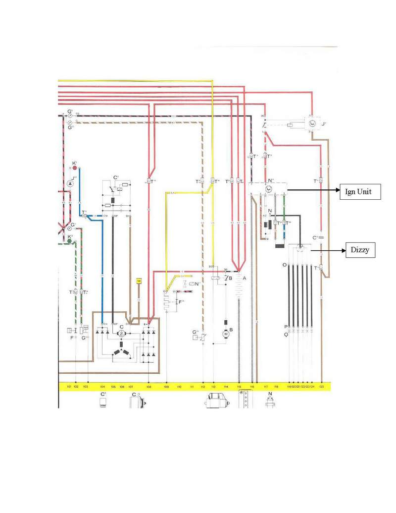 1977 Turbo Wiring Diagram