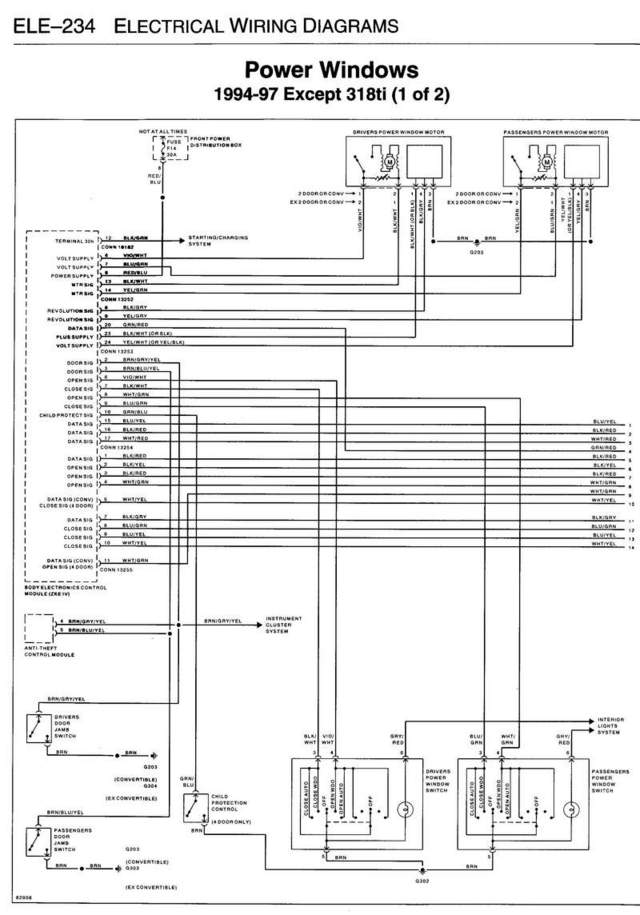 Diagram  Mercedes Benz W124 Series 85 93 Service And