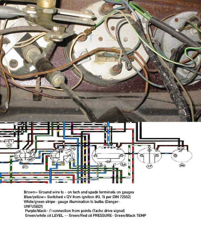wiring for swb gauges pelican parts technical bbs