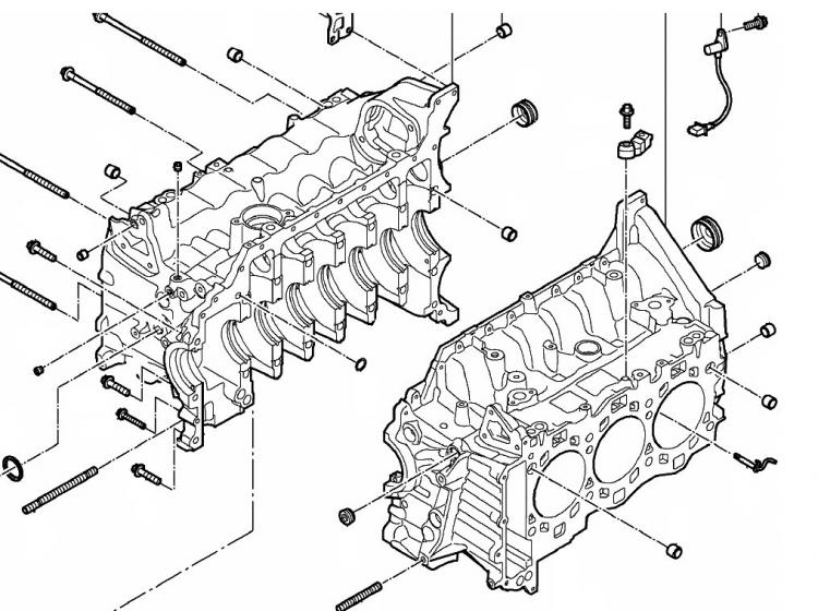 diagram of the oiling system of the new a91 engine