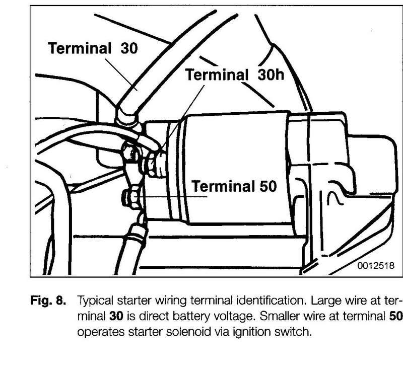 need help wiring starter pelican parts technical bbs 1970 Ford Starter Wiring  1999 Ford Ranger Starter Wiring Ford Ranger Transmission Wiring 1993 Ford Ranger Starter Solenoid Diagram