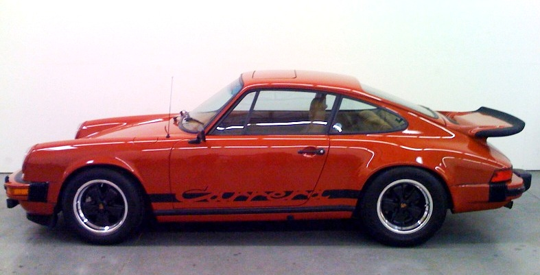 1975 Porsche 911 Whale Tail Carrera Coupe Pelican Parts