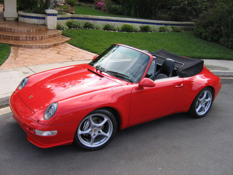 1995 Porsche 911 993 C4 Cabriolet For Sale Amazing Car