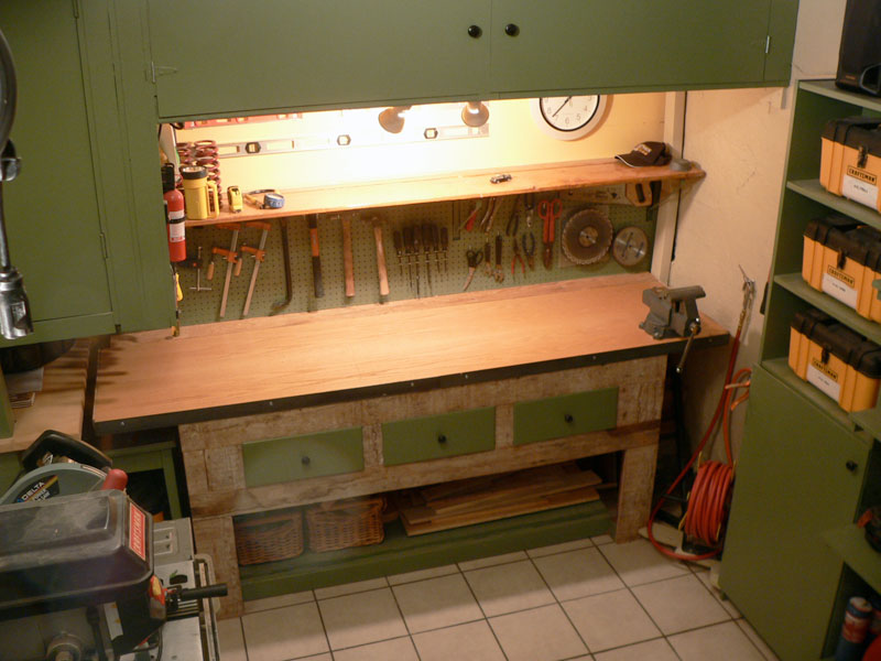 The Garage Journal Board - View Single Post - Lets see your workbench