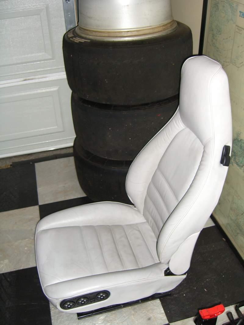 Porsche 964 seat gray all