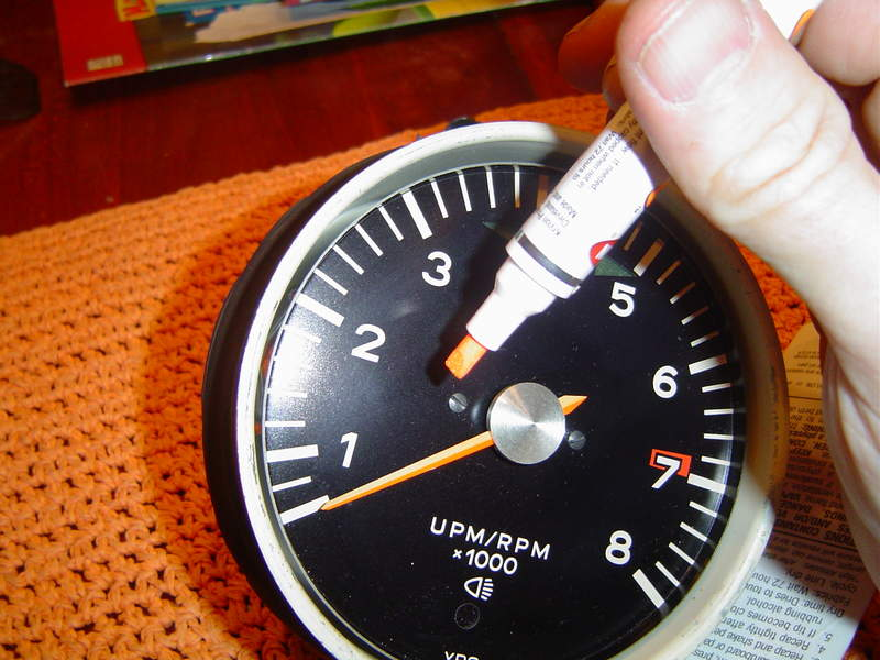 Cost To Repaint A Car >> Gitting rid of faded gauge indicator needles - my gauge ...