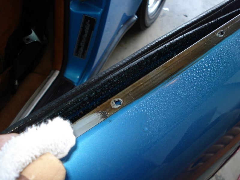Window Guide Felt And Slot Seal Replacement Coupe