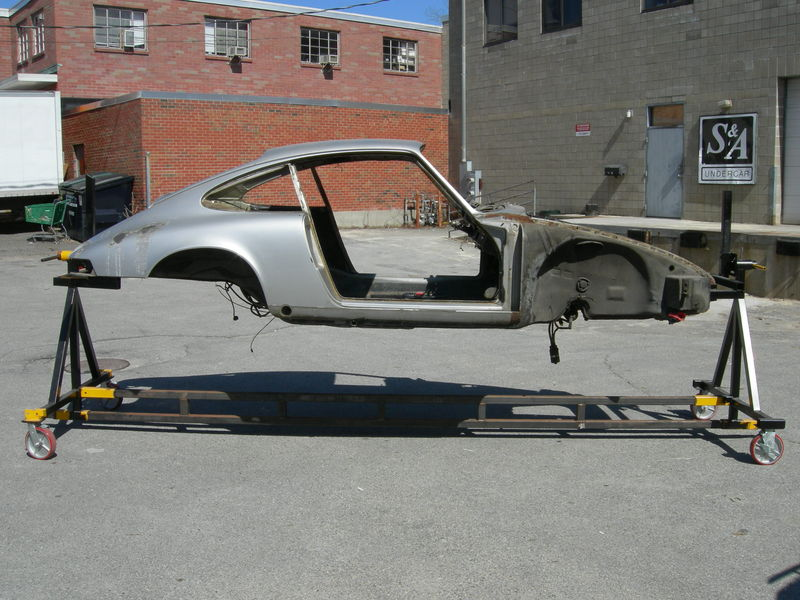 Technical Drawing On A Rotisserie For 911 Pelican Parts