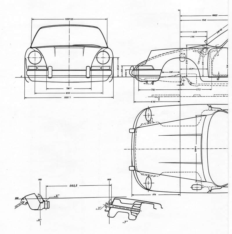 porsche 911 mechanical diagram
