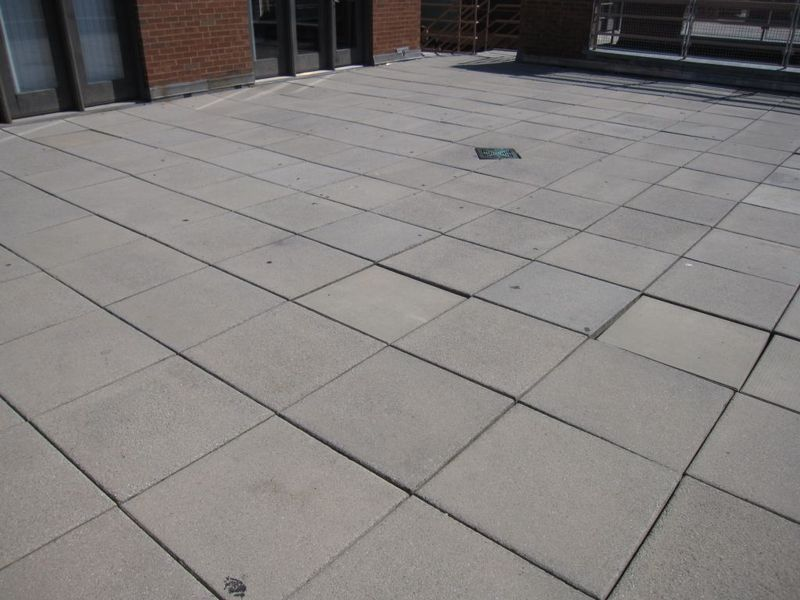 Concrete Roof Pavers Amp Rooftops