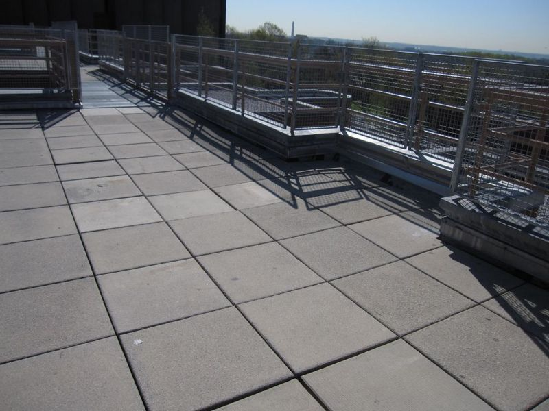 Attractive Roof Deck Could Use Advice From The Brain Trust Page 3 Concrete Roof I Took  These Following Photos For You They Simply Placed A Concrete Paver Over The  ...