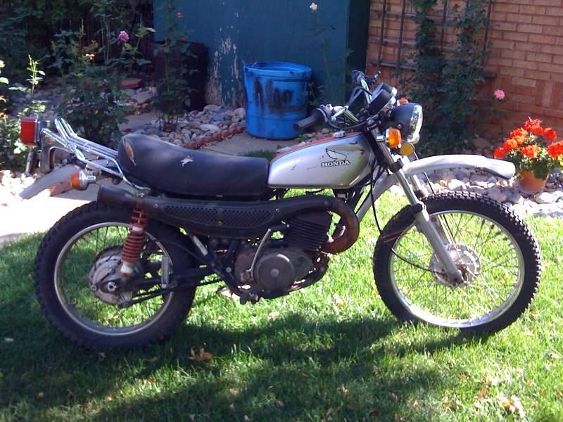 1975 Honda Mt250 Elsinore From Fellow Pelicaner Gogar