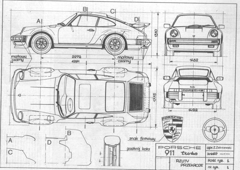 Pelican Parts 911 Forum >> CAD or regular drawing of Porsches - Pelican Parts Forums
