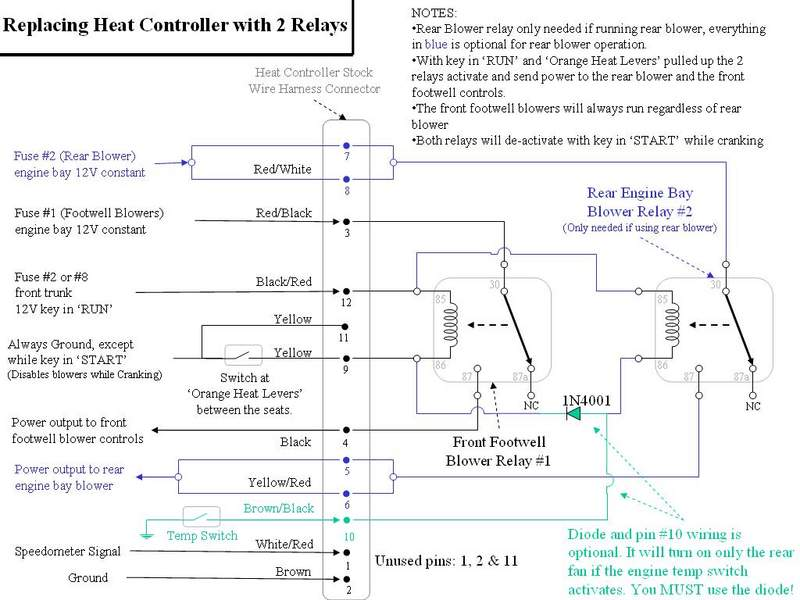 Carrera - Removing Engine Compartment Heater Blower - Page 2