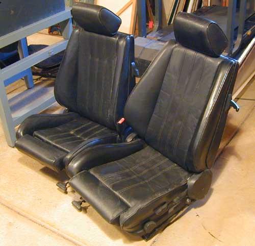 Are These BMW E30 SPORT RECARO Seats?