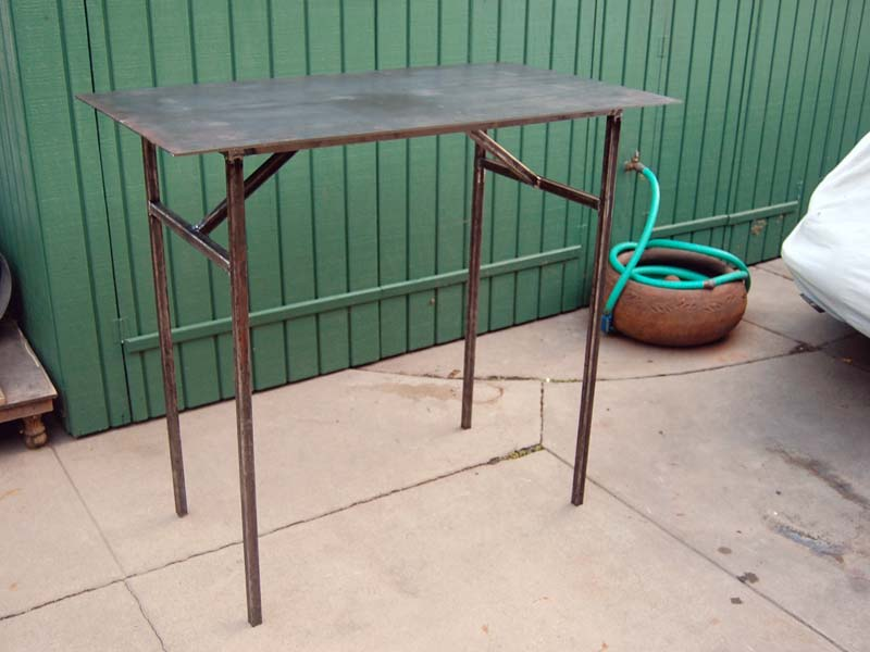 Download folding welding table plans plans free - Plan fabrication table ...