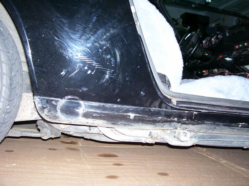 What is your estimate in hours, to R&R rocker panels