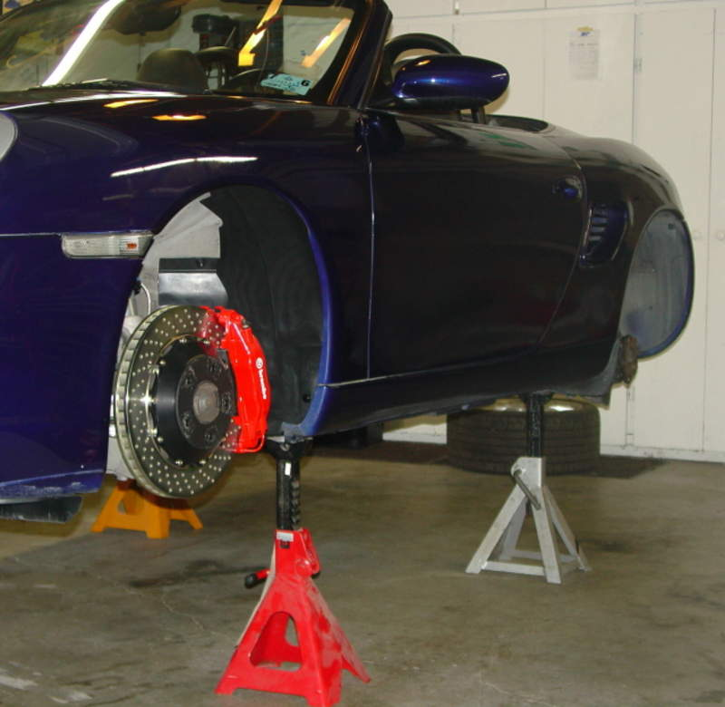 Where To Place Jack Stands After Lifting The Car