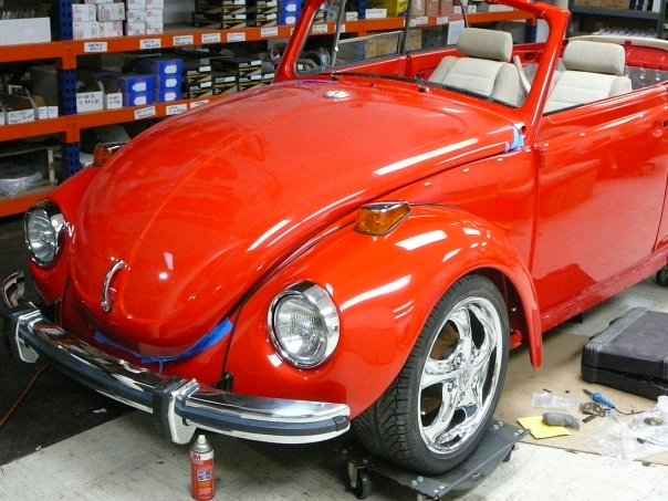 1972 Super Beetle (1302) with 944 suspension    - Pelican
