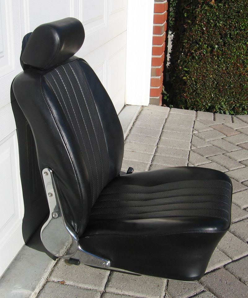 67 Early 68 Driver S Seat W Headrest Pelican Parts Forums