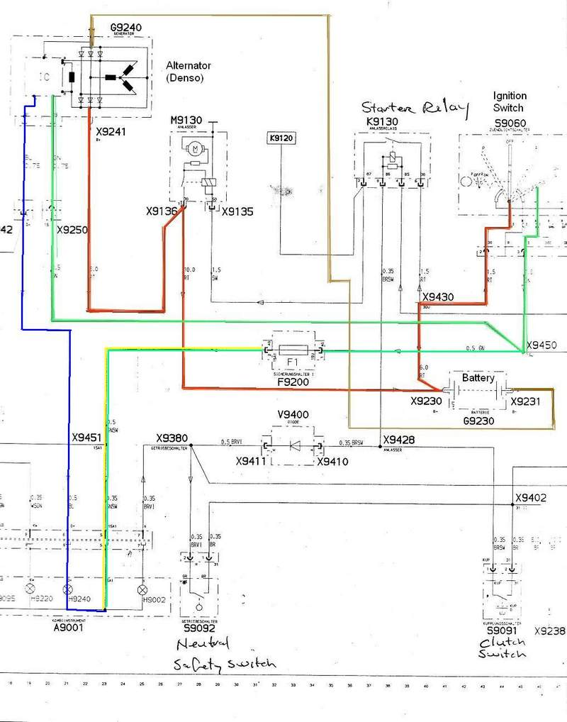 nd alternator wiring diagram nd image wiring diagram there are only three wires pelican parts technical bbs on nd alternator wiring diagram