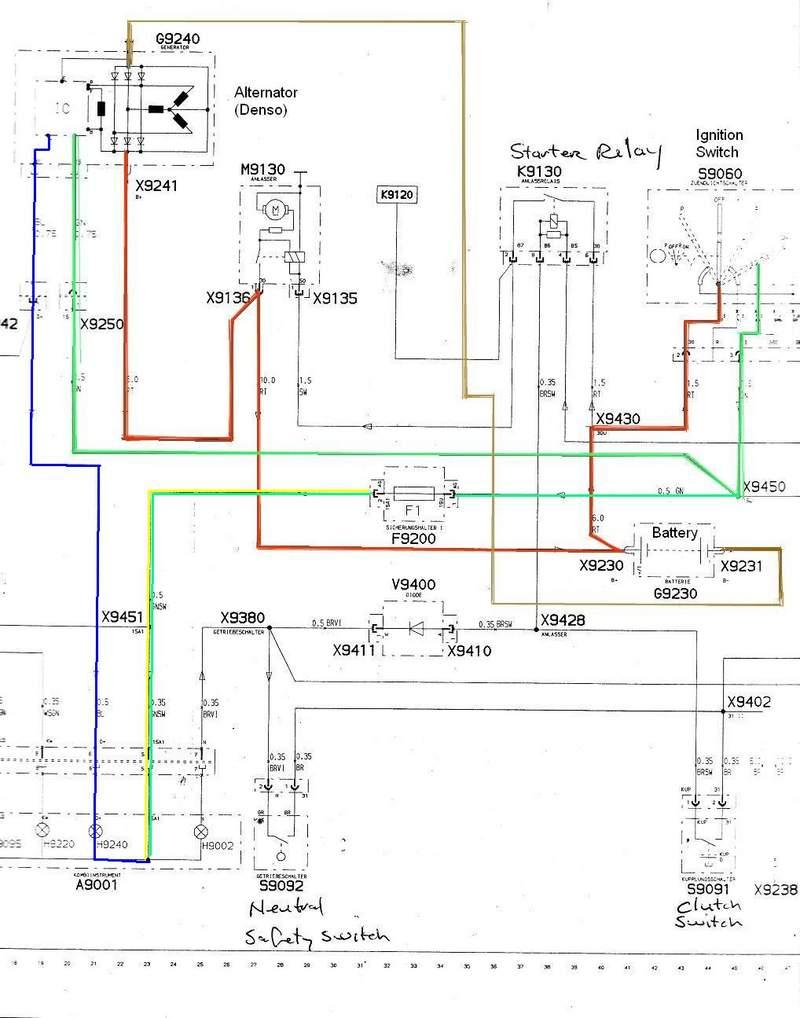 denso alternator yanmar wiring diagram wiring diagram  yanmar denso alternator wiring diagram