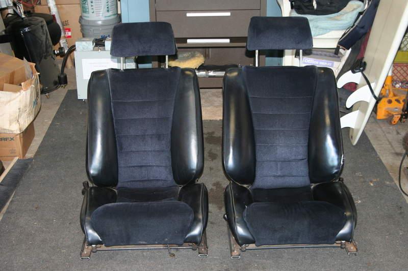 1969 Recaro Sport Bucket Seats Pelican Parts Forums