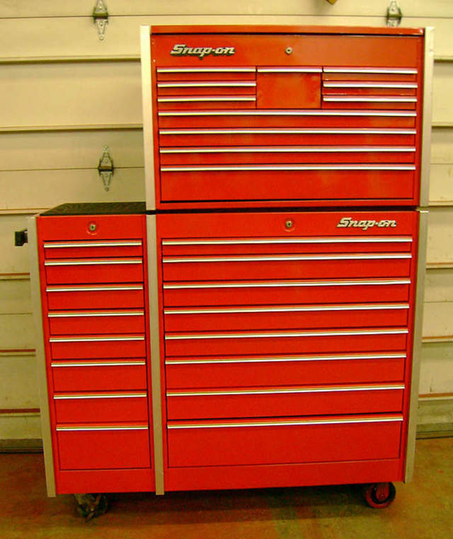craig's list score! snap-on tool box! - pelican parts forums