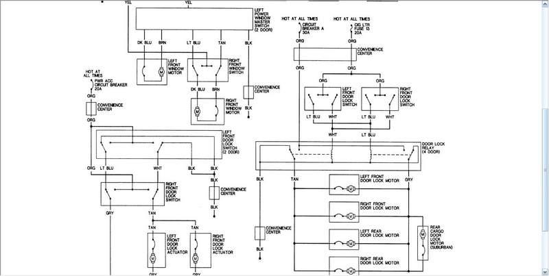 98 tahoe wiring help