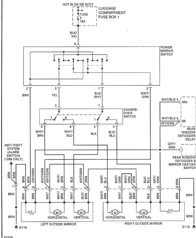U0026 39 78 911 Sc Power Mirror Woes