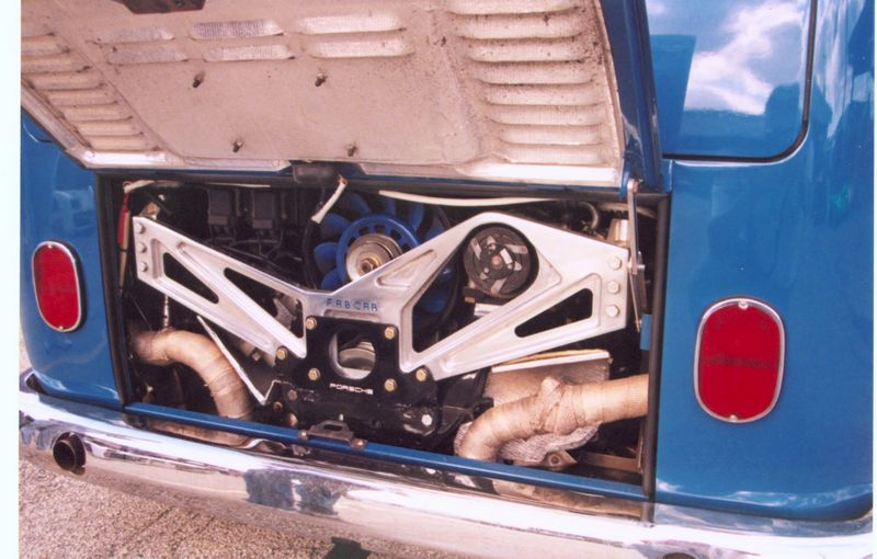 911 engine and Trans-axel in VW Bus - Pelican Parts Forums