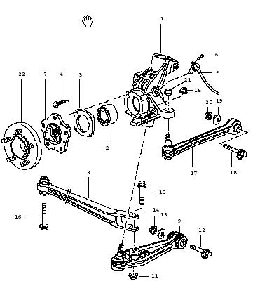 E91 Suspension Diagram