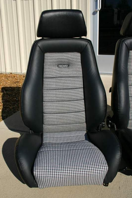 Porsche San Francisco >> FS: Recaro seats finished in Houndstooth - Pelican Parts Forums