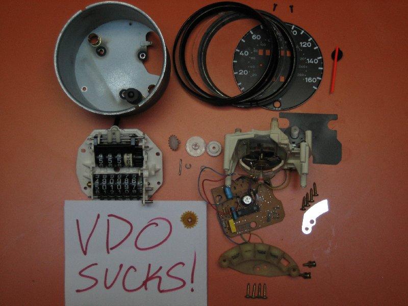 Vdo Really Really Really Sucks 930 Turbo Speedometer
