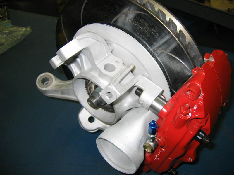 Jeff Hood Porsche Brakes on All Parts Under The Hood