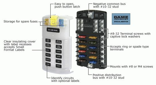 Ranger Boat Fuse Box Location : Trick circuit breaker fuse panes bus pics and specs
