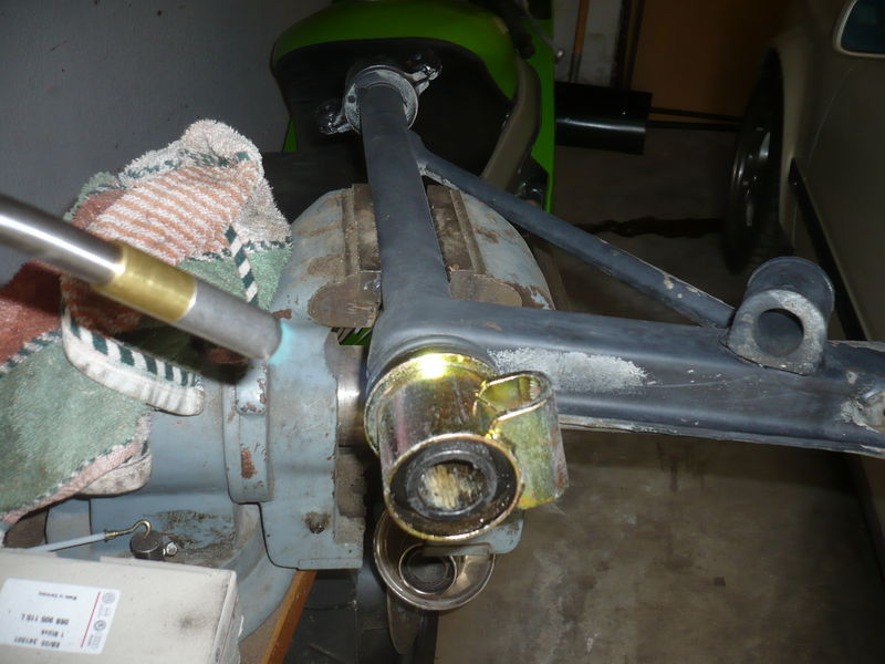 Front Control Arm bushing install - Pelican Parts Forums