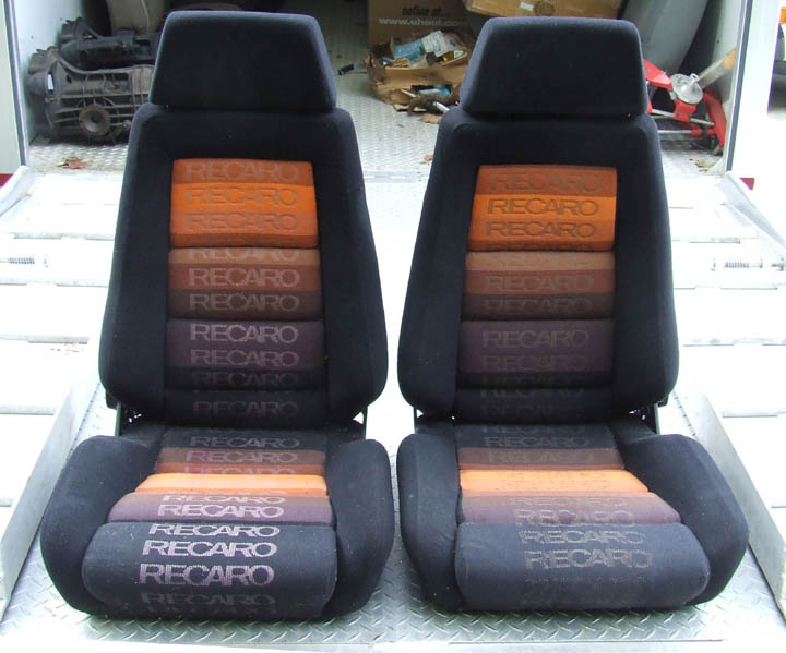 Vintage Recaro Logo seats - Pelican Parts Technical BBS