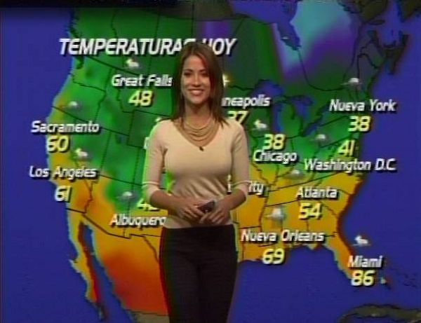 image Erin calandra hot accu weather girl
