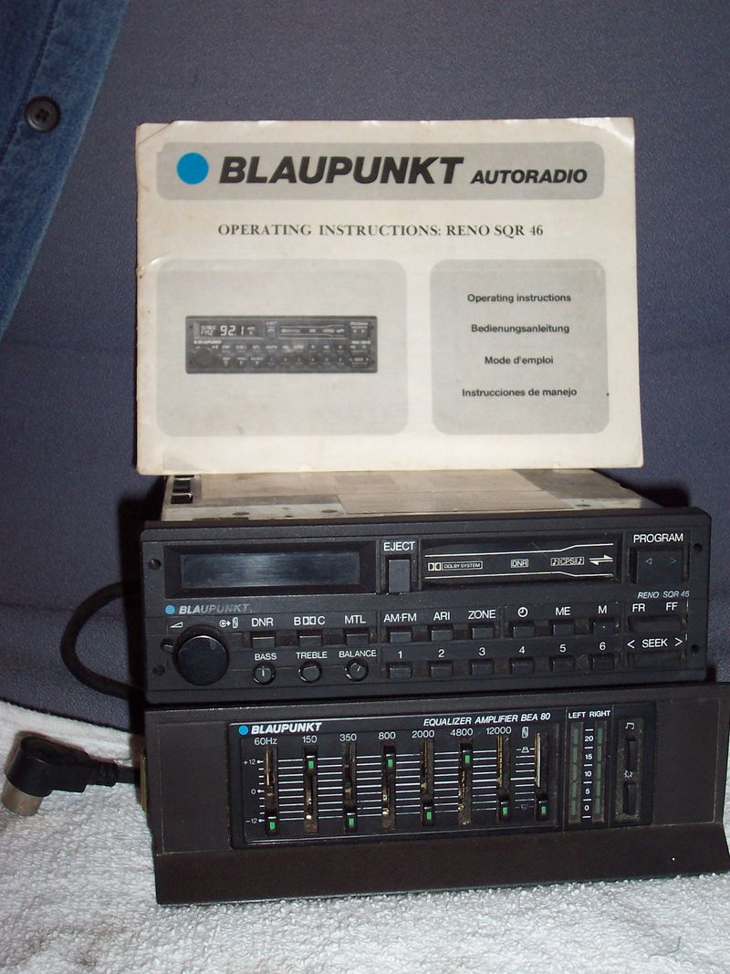 Wtb Blaupunkt Lexington Sqr 45 And Eq Pelican Parts Forums
