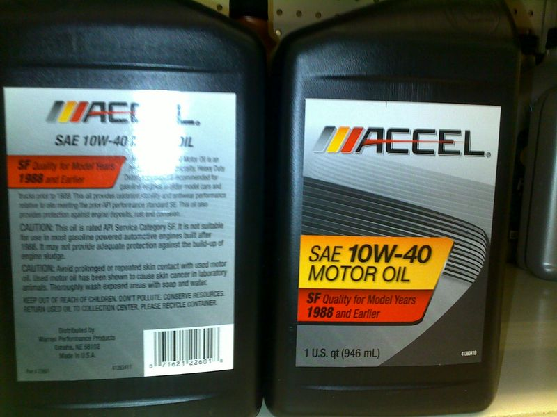 Anyone Used Accel Motor Oil Pelican Parts Technical Bbs