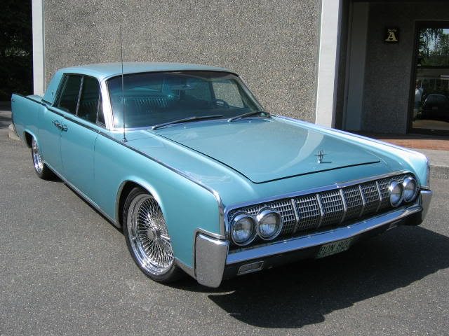 Lincoln Continental 1964. +1 on the suicide Lincoln.