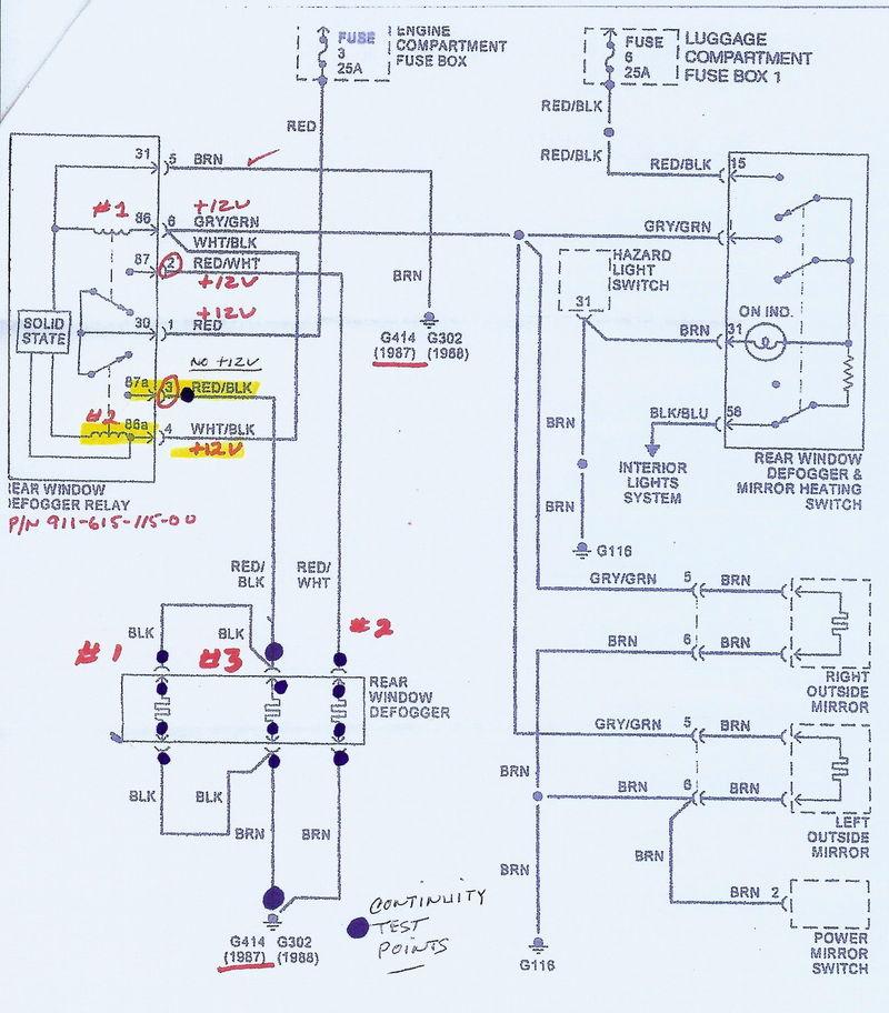 Where Do Rear Window Defrost Wires Unplug