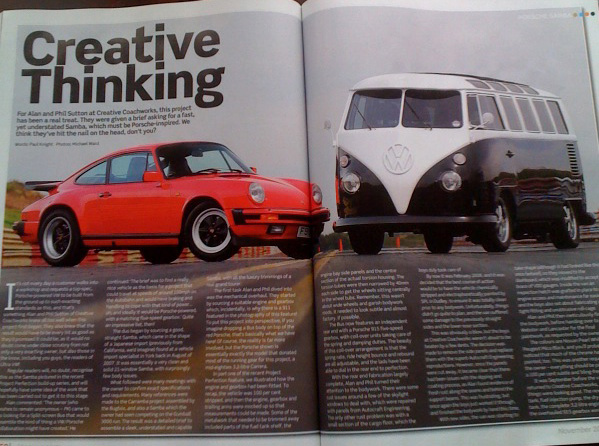 911 engine and Trans-axel in VW Bus - Page 3 - Pelican Parts Forums