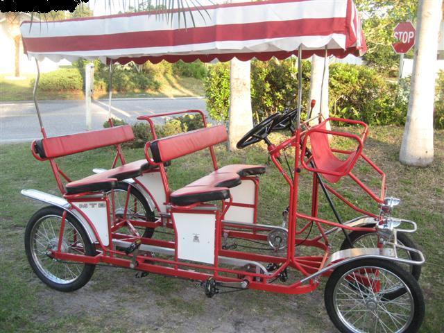 The Surrey Limousine 4 Person Bicycle Pelican Parts