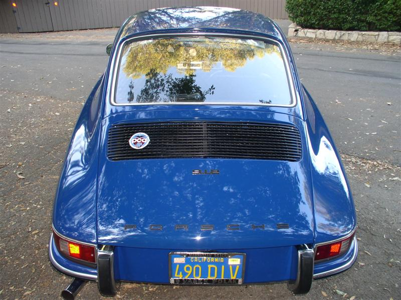 Pelican Parts Forums - 68 ossi blue 912 calif blue plate