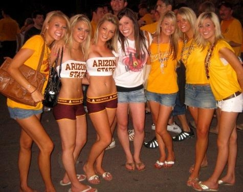 Colleg Girls - Best Looking are from Texas Tech, Second is ...