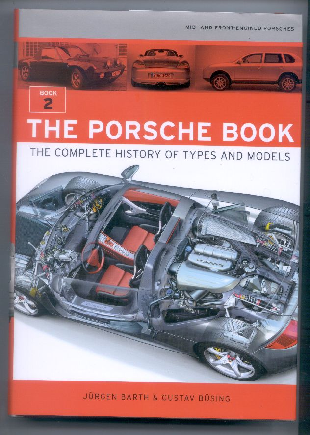 The Porsche Book The Complete History Of Types And Models Barth